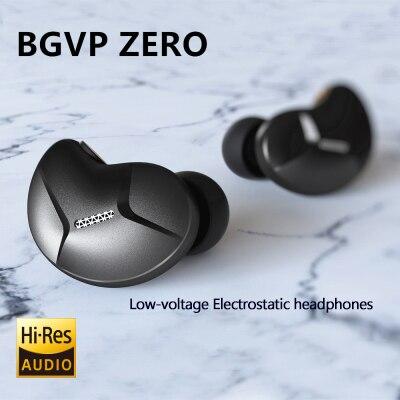 BGVP ZERO Static headphones HIFI in-ear Moving-coil earplugs running motion line control bass